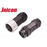 Wholesale High Current Waterproof Circular Connectors , 3 Pin Circular Plastic Connectors from china suppliers