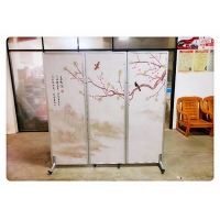 Wholesale Hotel Folding Partition Wall / Doors With Wheels Indonesia Hospital Movable Folding Partition Wall from china suppliers