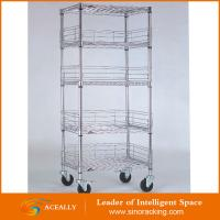 Wholesale Steel wire shelving unit, white wire shelving unit from china suppliers