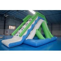 Wholesale Customized 0.9mm PVC Tarpaulin Inflatable Water Slide For Commercial Use from china suppliers