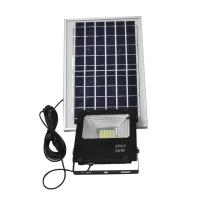 China IP65 20W Solar Powered Backyard Lights Motion Sensor ABS Material 160LM Lux on sale