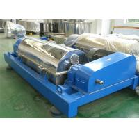 Wholesale Corn Fiber Dehydration Industrial Decanter Centrifuge Horizontal Structure from china suppliers
