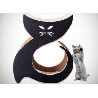 Wholesale Cat Shaped Cardboard Scratch Pad Corrugated Scratching Surface Protect Furniture from china suppliers