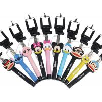 Wholesale Wholesale cartoon selfie stick, cartoon monopod for IPhone, Samsung and any smart phone from china suppliers