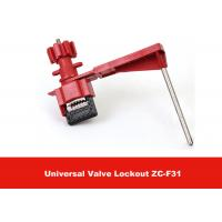 Wholesale 327G Red Security Remote Controal Universal Valve Lockout with Single Arm from china suppliers