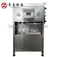 China Electric Beer Can Filling Machine , Semi Automatic Beer Can Filler Easy To Operate on sale