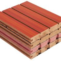 Buy cheap Fireproof Veneer Sound Absorbing Boards For Walls And Ceilings 2440mm * 133 mm from wholesalers
