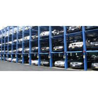 China Simple Hydraulic Car Stack Parking Lift 4 Floors Storage Car Parking System for parking 12 cars on sale