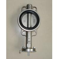 Wholesale High Performance Stainless Steel Wafer Butterfly Valve for Waterworks Purpose from china suppliers