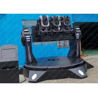 Wholesale Cinema 9D VR Roller Coaster , Electric Platform 9D Vr Simulator For Outdoor Playground from china suppliers