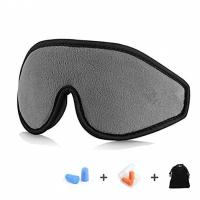 China Personalized Memory Foam Eye Mask And Earplugs For Sleeping / Shift Work on sale