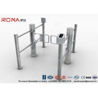 Wholesale Double Core Biometric Pedestrian Security Gates Stainless Steel With Access Control from china suppliers