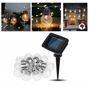China 20ELD Solar Pineapple Light String Light,Solar Powered Led String Lights Outdoor on sale