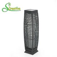 Wholesale Pathway Decorative Rattan Solar Garden Lights LED Solar Panel Outside Waterproof from china suppliers