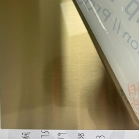 Wholesale Gold Hairline / Gold Mirror 1219x2438mm Stainless Steel Sheet from china suppliers
