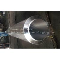 China S355NL Hot Rolled Forged Bar Forged Sleeves Pipe With PED Certificate Machined on sale