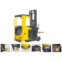 Wholesale Seat Type Electric Reach TruckForklift , Narrow Aisle Reach Truck 6.2m Lifting Height from china suppliers
