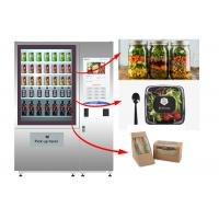 Wholesale Stand Fresh Salad Vending Machine With Lift System And Remote Advertising System from china suppliers