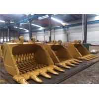 Wholesale Durable Excavator Digging Bucket Digger Attachments For Hard Soil / Sand from china suppliers