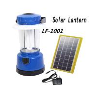 Wholesale Portable Solar Lantern Lights Solar LED  Outdoor Camping Lantern With FM Radio and USB from china suppliers