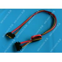 Wholesale 22 Pin SATA Extension Cable with Converter 5V to 3.3V For Power from china suppliers