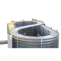 Wholesale Industrial Customized Spiral Cooling Conveyor / Food Grade Bread Machinery from china suppliers