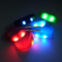 Wholesale Buy the newest LED PULSE Motion sensor light up wristbands bracelets from china suppliers