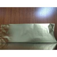 China Three Side Seal Ziplock Coffee Bags PET / NY / PE Oxygen Resistance Customized on sale