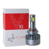 Wholesale 3000K H8 / H9 / H11 Car LED Headlights V10 DC 12 - 24V 120W High Power from china suppliers