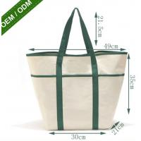 China Factory Wholesale Reusable Shopping Bags New Fashion Large Black Tote Bag on sale