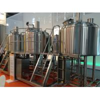 Wholesale Semi Automatic 500L Small Microbrewery Machine For Brewpub Or Restaurant from china suppliers