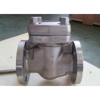 Wholesale Reduce Bore Forged Steel Valve Intergral Flange Piston Check Valve BC F11 F51 B16. 34 from china suppliers