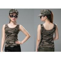 Wholesale Comfortable Army Military Dress Uniforms , Sex Womens Camo Vest from china suppliers