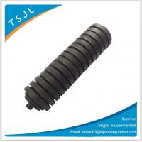 Wholesale Rubber coated impact roller for belt conveyor/carrier impact roller from china suppliers