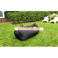 Hot selling lazy hangout inflatable air sleeping bag,couch bed for outdoor