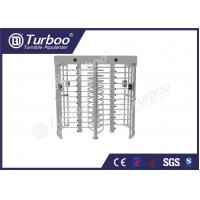 Wholesale 304 stainless steel dual lane full body turnstile gate with 120 degree revolving from china suppliers