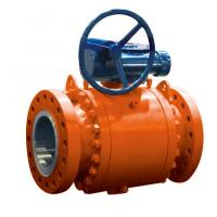 Wholesale API6D Trunnion Mounted Peek Seat Ball Valve from china suppliers