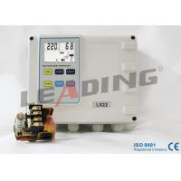 Wholesale Durable Single Phase Pump Control Panel , Duplex Pump Controller With One Push Button Calibration from china suppliers