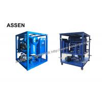China ZYD High vacuum oil purifying plant for transformer,Multi-functional Oil Dehydration of Transformer on sale