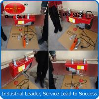 Wholesale 100kg 12m Mini Electric Hoist from china suppliers