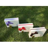 China Customized Empty Rigid Paper Gift Box Chocolate Gift Box Packaging For Festival on sale