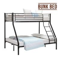 China Black Heavy Duty Strong Military Bunk Bed , Steel Bunk Beds For Adults on sale