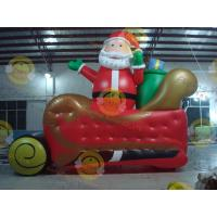 Wholesale Giant Inflatable Balloon Santa Claus For Christmas Decoration from china suppliers