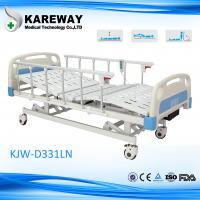 Lateral Tilting Hospital Adjustable Bed , Foldable Home Health Care Beds