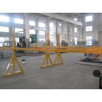 Wholesale Lifting Suspension Mechanism Suspended Work Platform With Dipping Zinc / Painted Steel Material from china suppliers
