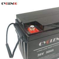 Wholesale Marine / Boat ABS Shell 36v 50ah Deep Cycle LiFePO4 Battery from china suppliers