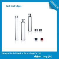 Quality NO Silicide Insulin Pen Cartridge Neutral Borosilicate Glass Material for sale