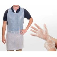 Wholesale Safety Disposable Medical Aprons , Disposable Kitchen Aprons 17 Mic Thickness from china suppliers