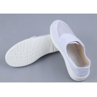 Wholesale PU Canvas 34-46 Esd Single Mesh Work Shoes With Velcro from china suppliers