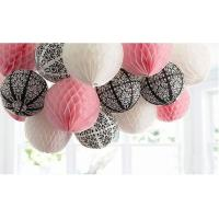 Wholesale Colours Craft Paper Honeycomb Ball for Home Birthday Party Decoration from china suppliers